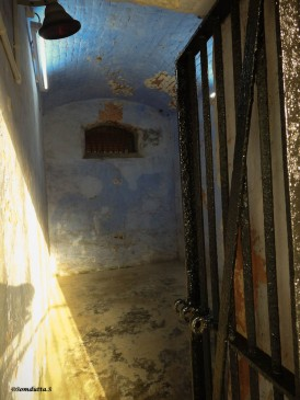 The small damp cells of the Cellular Jail