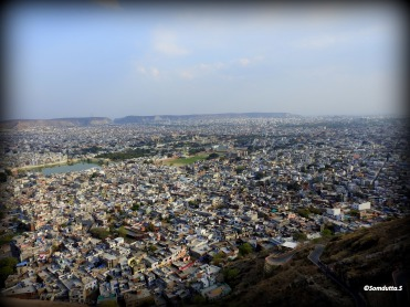 View of the Jaipur City