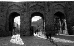 Entrance to the Bhangarh Fort area
