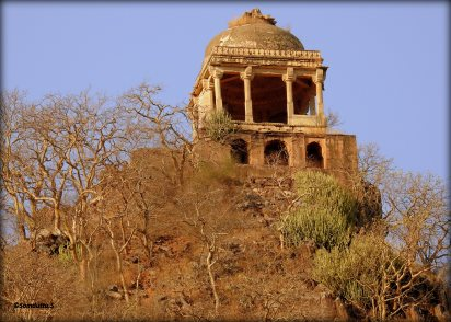 'Haunted' temple at the peak of the hill
